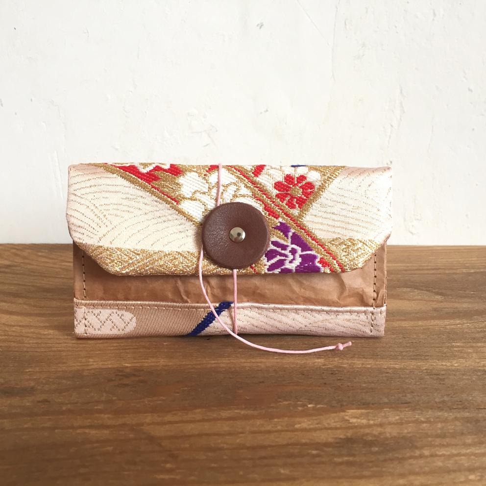 ノチホド物語のある/軽くて丈夫/思わずバッグに忍ばせたくなる米袋のマルチカードケース/キーケース/着物の帯